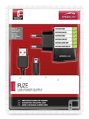 Speedlink FUZE USB Ladekabel für Nintendo NEW 3DS XL DSi  Netzteil D16-738094