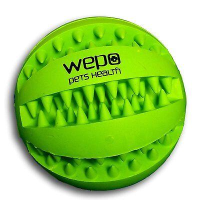 WEPO Hundespielzeug Ball Leckerlie Intelligenz Kauball Snackball Hundeball