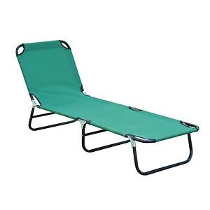 outdoor folding lounge chairs tufted back chair ebay chaise