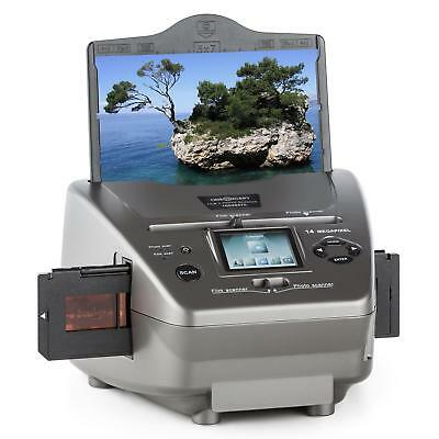Diascanner Foto Film Negativ Scanner LCD Display Digitalisierung 14 Megapixel