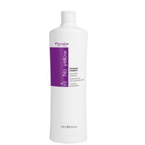 1 Liter Fanola Anti-Gelbstich Silbershampoo Silber Shampoo blondes graues Haar