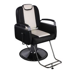 Best Barber Chairs Cream Padded Folding All Purpose Hydraulic Recline Chair Salon Beauty