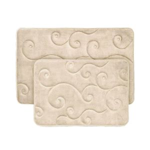 Memory Foam Bath Mat  - Beige