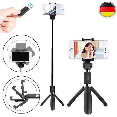 Handy Selfie Stick Stativ Bluetooth Teleskop für iPhone Samsung Einbeinstativ