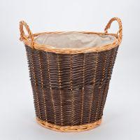 Wicker Toy Storage Box Holder Fireplace Log Basket Laundry ...