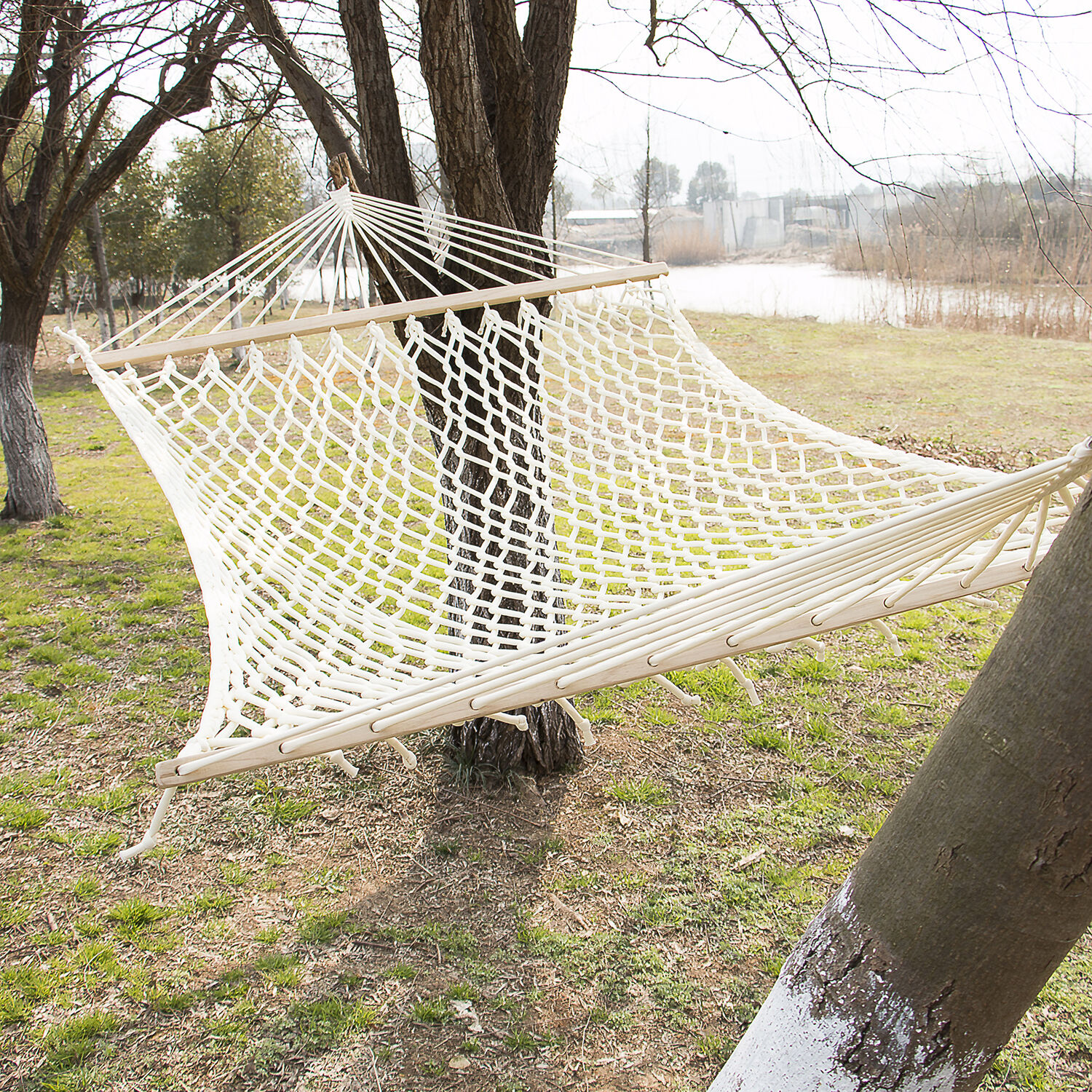cat hammock under chair pads ikea portable outdoor mesh polyester cotton swing