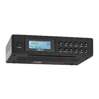 Unterbau Küchenradio DAB+ Radio Wecker Digital Tuner UKW RDS LCD-Display Alarm