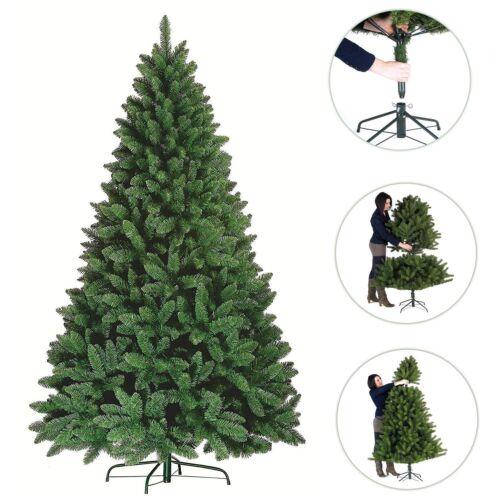 Christbaum 180 ~ 240cm Dekobaum Künstlicher Weihnachtsbaum Kunstbaum Tannenbaum