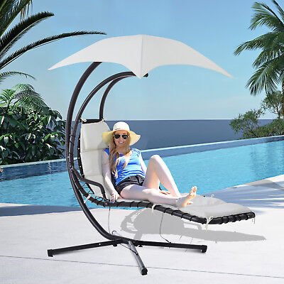 swing chair with stand kuwait office chairs lumbar support best hanging chaise lounger arc hammock air porch outdoor canopy buy products online ubuy in affordable prices 371901418167