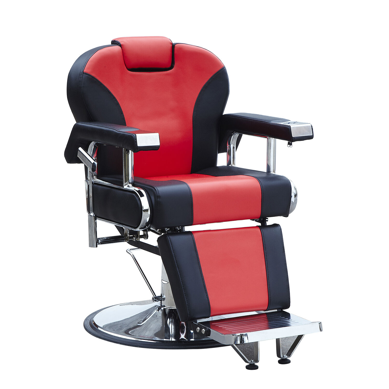 Red Barber Chair Details About Hydraulic Recline Red Barber Chairs Heavy Duty Salon Spa Beauty Equipment New