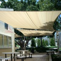 Waterproof Rectangle Sun Shade Sail Fabric Canopy Patio ...