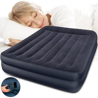 INTEX Luftbett mit Pumpe Gästebett Bett Matratze Luftmatratze selbstaufblasend