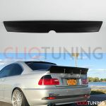 Bmw E46 Coupe Ducktail Wing 2door Trunk Spoiler For Drift Track