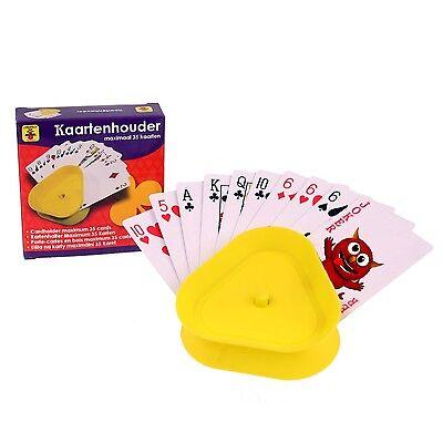 Kartenhalter aus Kunststoff Spielkartenhalter für Kinder und Senioren