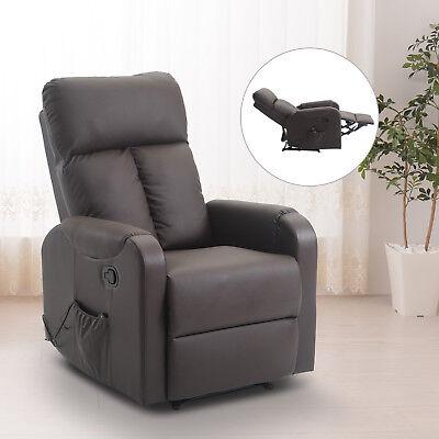 HOMCOM Massagesessel Relaxsessel Massage Sessel mit Wärmefunktion Liegefunktion