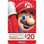 Nintendo eShop gift card $20 USD Switch 3DS WiiU