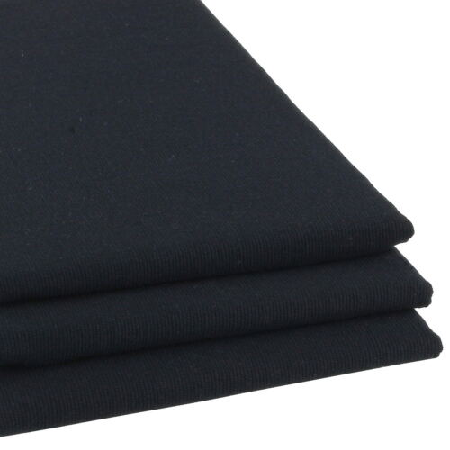 3er Set hochwertige Geschirrtücher Schwarz Küchen-Handtuch Trockentuch Küche