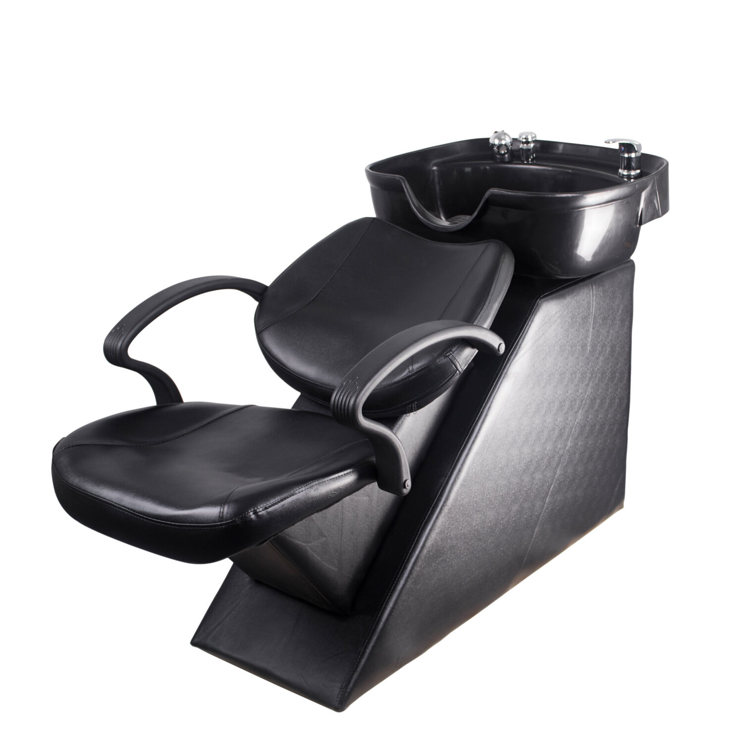shampoo sink and chair sporting event chairs new backwash bowl barber station unit
