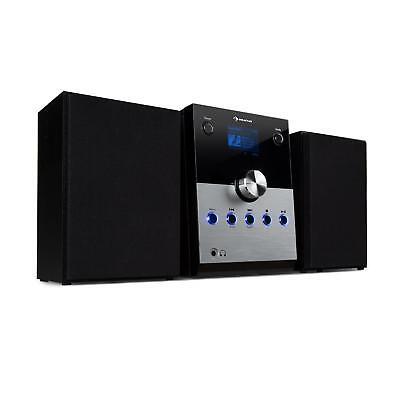 Micro Stereoanlage DAB Digitalradio kompakt Bluetooth Lautsprecher CD Player Box