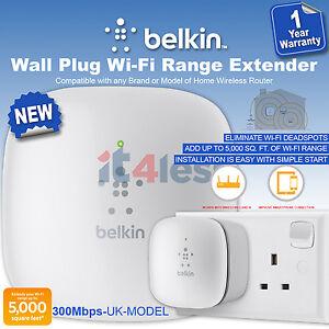 Belkin N300 Universal WiFi Range ExtenderWireless Signal