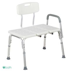 Chair Stool With Back Desk Jersey Adjustable Medical Shower Bench Bath Tub Seat And Details About Arms