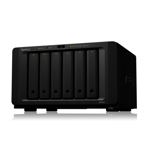 Synology Diskstation DS1618+ NAS System 6-Bay