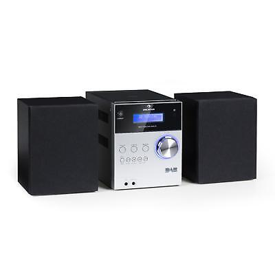 Micro Bluetooth Stereoanlage MP3 DAB+ Digitalradio CD Player UKW Tuner Boxen