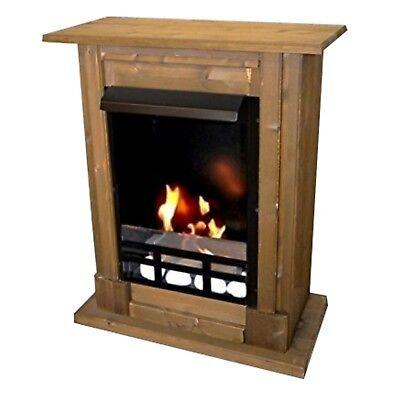 Ethanolkamin Gelkamin Kamin Fireplace Camino Cheminee Madrid Premium Royal Eiche