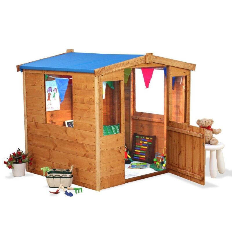 Wooden Playhouse Childrens Garden Playhouses