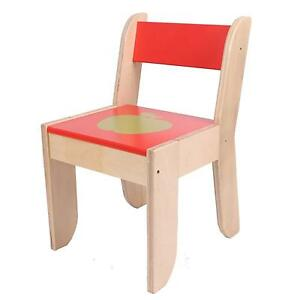 small wooden chair nautical cushions with ties childrens chairs tables ebay children s