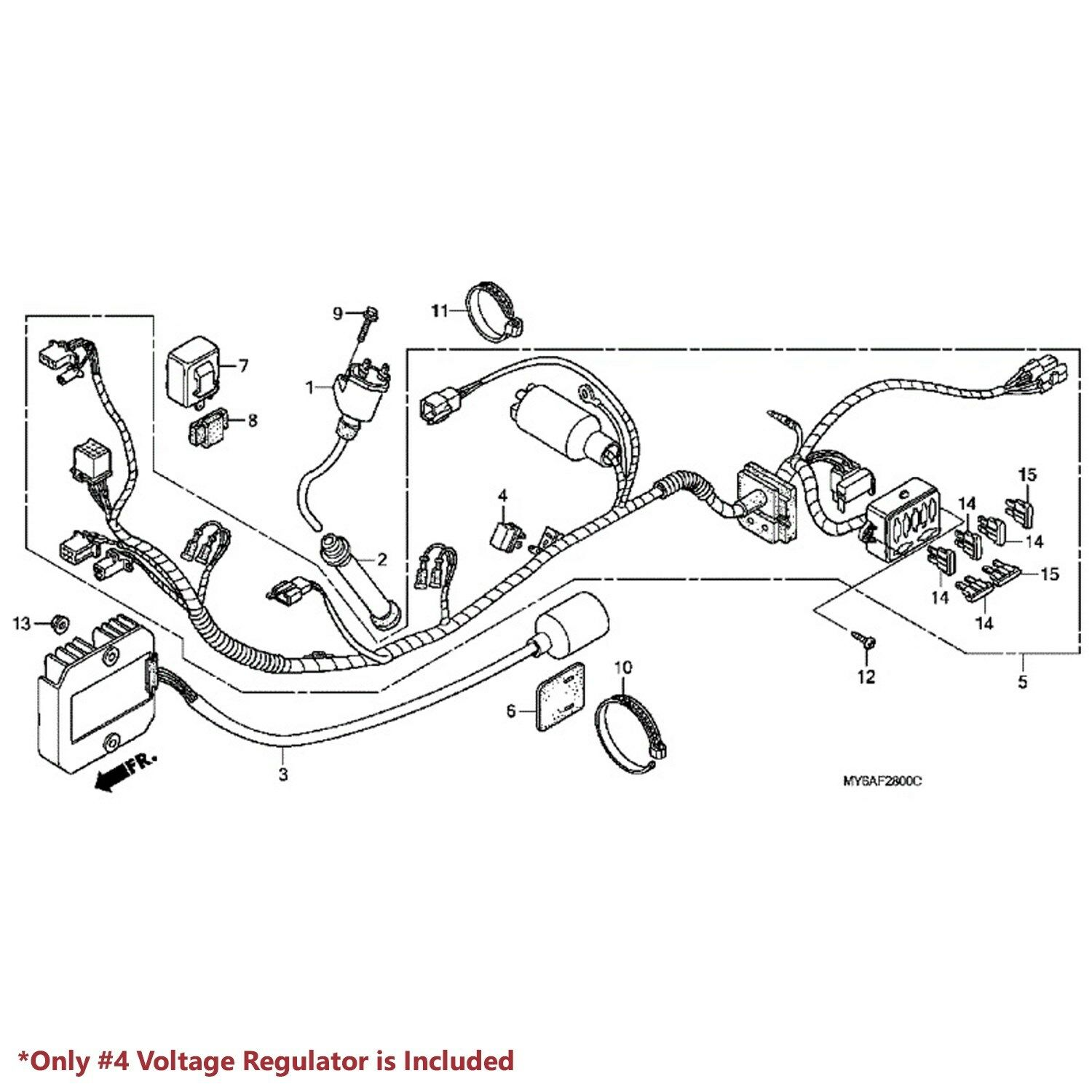 Wrg Honda Xr650l Wiring Harness Diagram