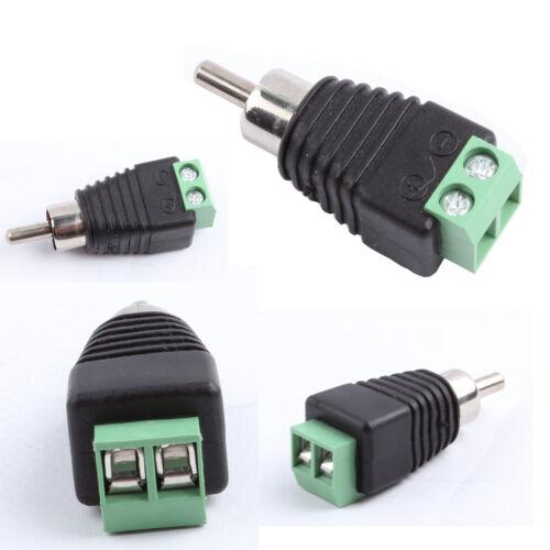 Rca Plug Wiring
