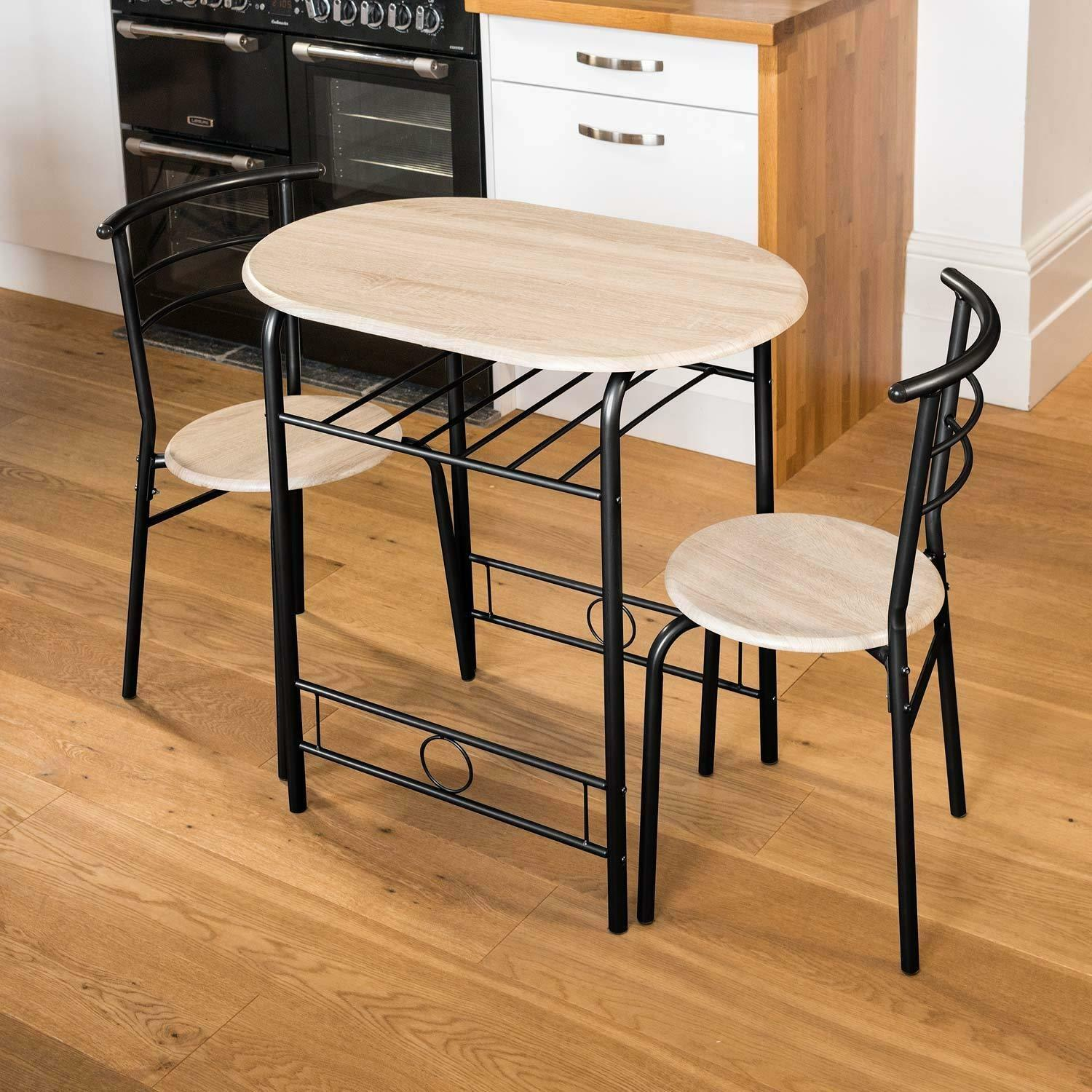 Table Chair Sets 2 Seater Kitchen Table And Chairs Dining Breakfast Compact Space Saver Table Set Home Furniture Diy Tallergrafico Com Uy