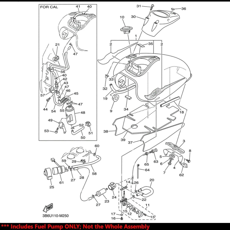 Oe Replacement Efi Fuel Pump Filter Strainer 03 09 Vstar