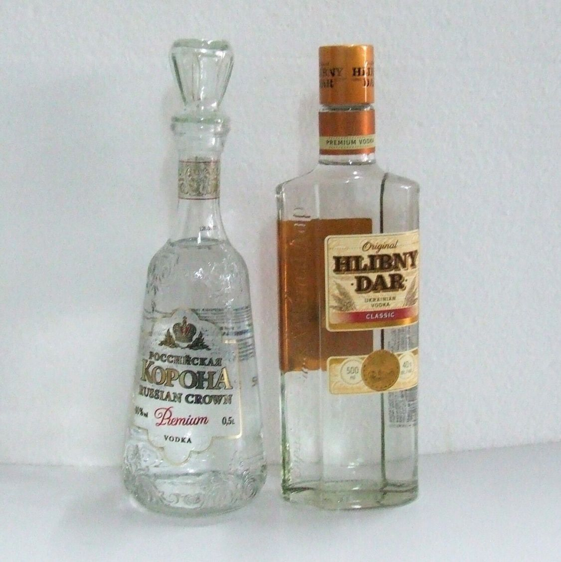 (21,00 €/L) Russischer Ukrainischer Wodka 0,5 L alc.40% vol. Premium Vodka