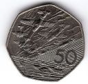 1994 50P COIN RARE D DAY LANDING OLD LARGE STYLE FIFTY PENCE BATTLE OF BRITAIN b