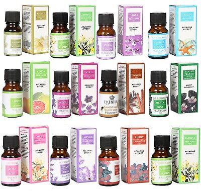 12 Duftöl Set Ätherische Öle Aromaöl für Aroma Diffuser Lampe Raumduft Lampenöl