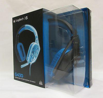 Logitech G430 Surround Sound Gaming Headset/Kopfhörer Neu & OVP