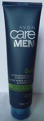 (100ml=9,50€) Avon - Care Men - Sensitive Aftershave-Balsam