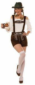 Oktoberfest Adult Women's German Lederhosen Costume
