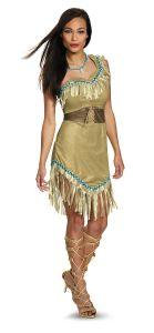 Adult Pocahontas Costume Disney Princess Costume Indian Princess 88923