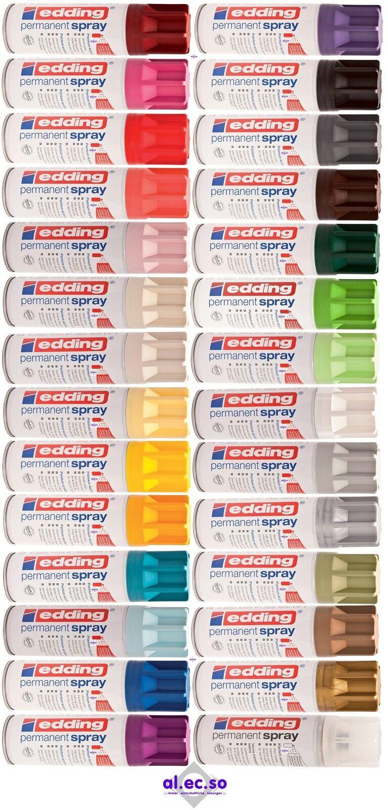 Edding 5200 Edding Spray Permanent Acryllack Permanentspray Grundierung 42Farben