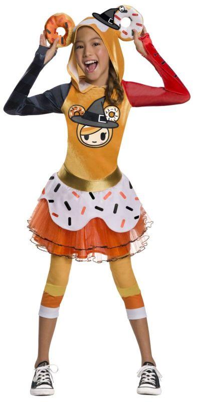 Rubies Tokidoki Halloween Donutella Witch Kawaii Dress Childrens Costume 641189