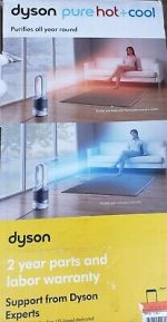 Dyson HP01 Pure Hot and Cool Purifying Heater Fan - White/Silver