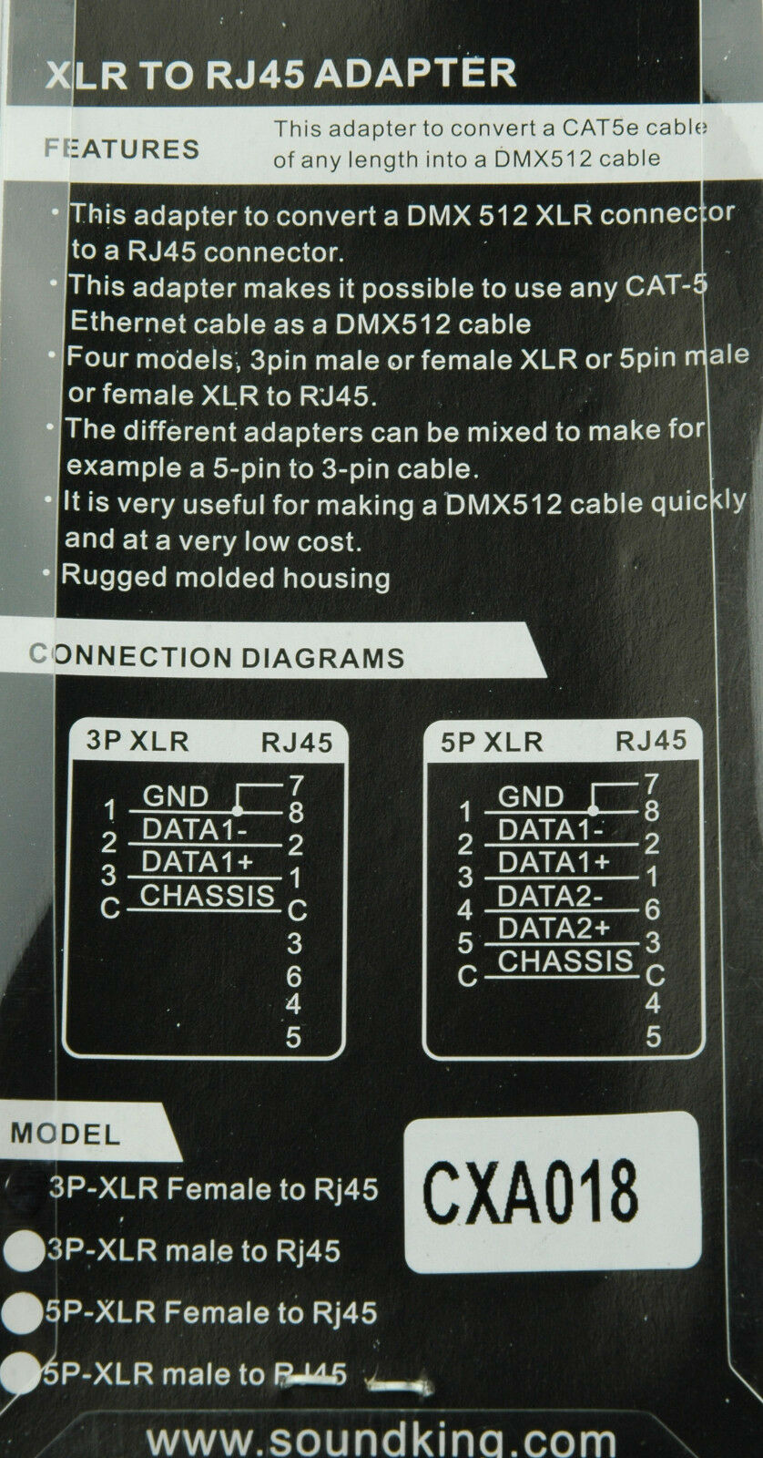 3 Pin Dmx Wiring Diagram