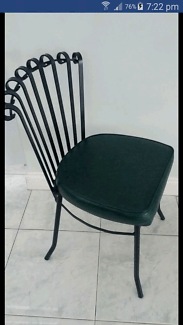 retro dining chairs gumtree melbourne giant folding chair wrought iron in region, vic | home & garden australia free local ...