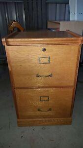 antique filing cabinet