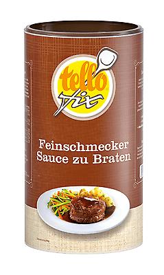 (EUR 11,69/kg) tellofix Feinschmecker Sauce zu Braten, dunkle Bratensoße (752 g)