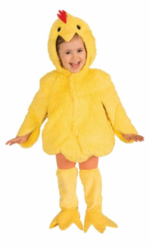 Forum Novelties Plush Furry Chicken Animals Toddlers Halloween Costume 72416