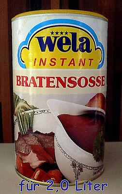Wela-Instant Bratensoße lactosefrei+glutenfrei Dose ergibt 2,2 Liter